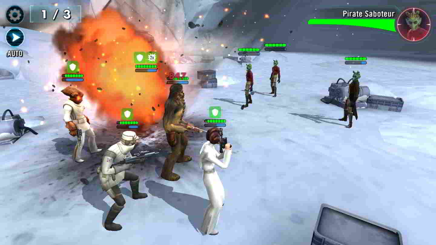 Star Wars Galaxy of Heroes juego android